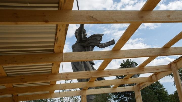 «Родину-мать» в Волгограде обнесут двухметровым забором