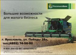 Россельхозбанк направил на развитие малого бизнеса 275 млн рублей