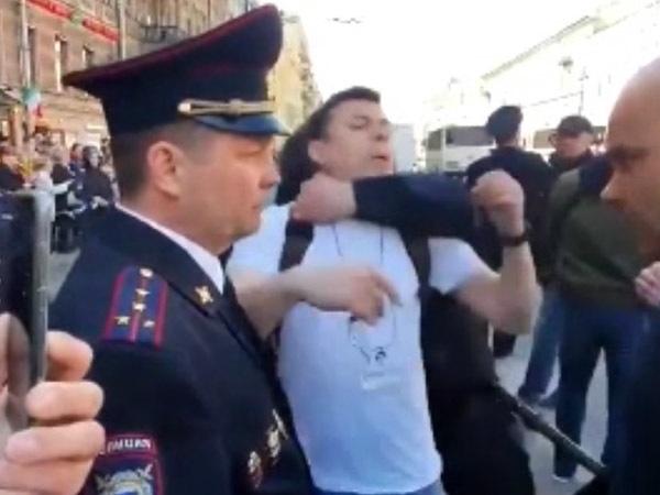 """скриншот видео из телеграм-канала """"Лентач"""""""