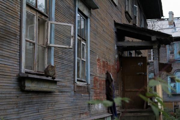 Ветхое жилье - беда Архангельска