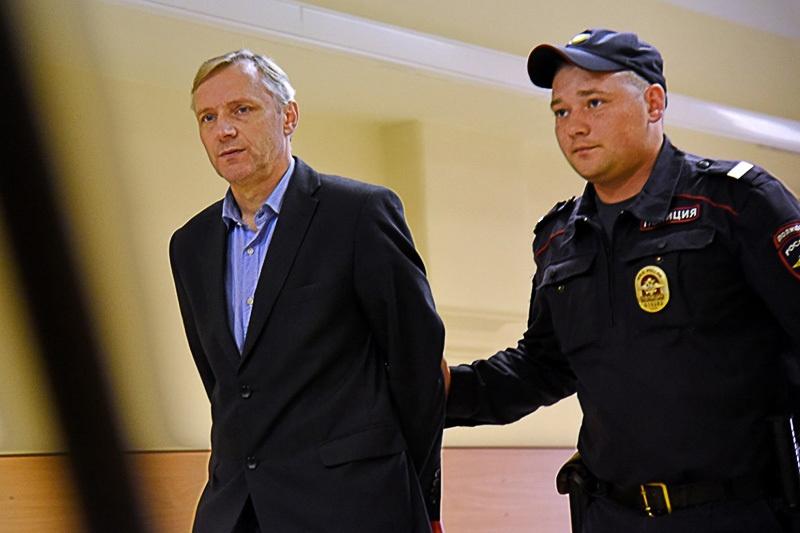 Андрей Лялин в Василеостровском суде