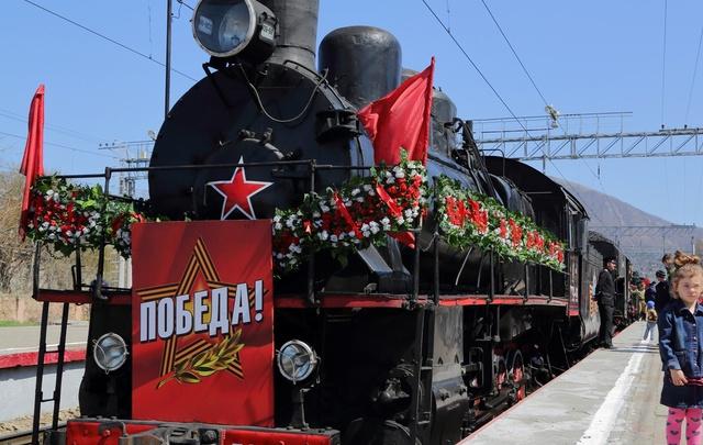 Ростов готовится встретить поезд «Победа»