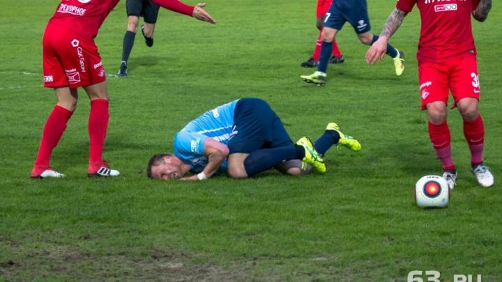Самарский футбол — он такой… самарский: матч «КС» — «Спартак» в 30 фото