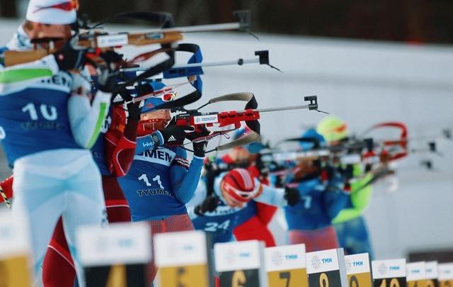 Тюменские биатлонисты выиграли первые гонки домашнего этапа Кубка России