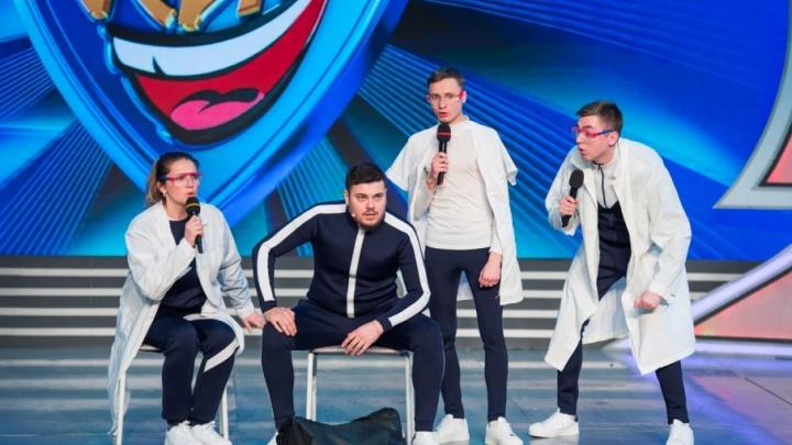 Пермская «Сборная бывших спортсменов» выступила на фестивале «КиВиН-2018» в Сочи