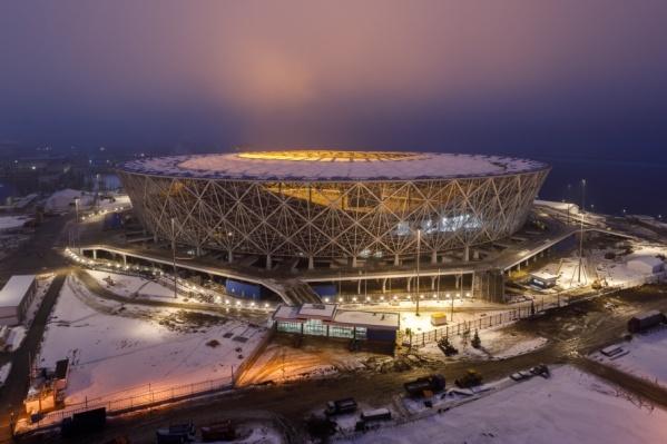 Стадион еще не достроен, но билеты уже можно покупать