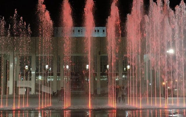 Театральный фонтан выключат на два дня из-за фестиваля «Пермский период»