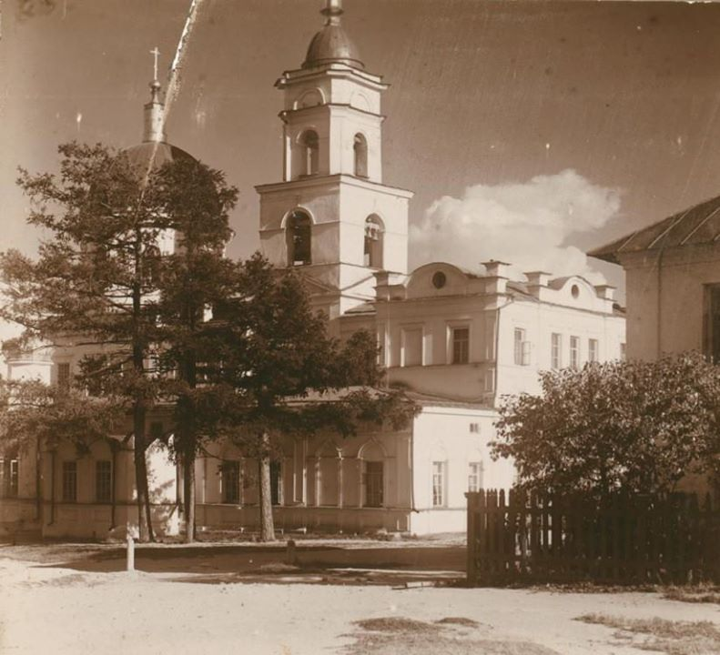 Исторический вид церкви.