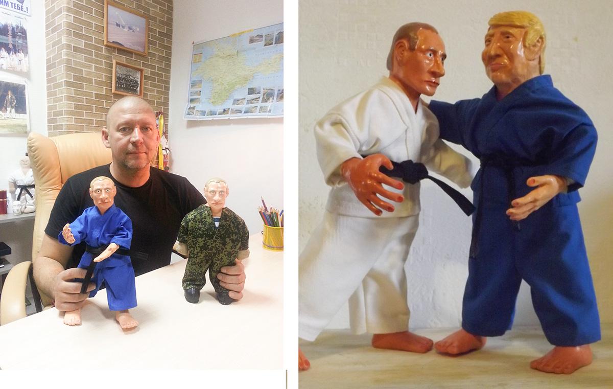 Политики – любимые персонажи Дениса