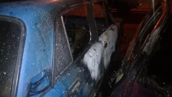 Подростка, спалившего Ford в Советском районе, нашли по записи с камер наблюдения