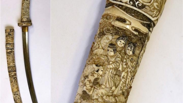 «Совершенный меч и произведение искусства»: в челябинском музее выставят уникальный японский клинок