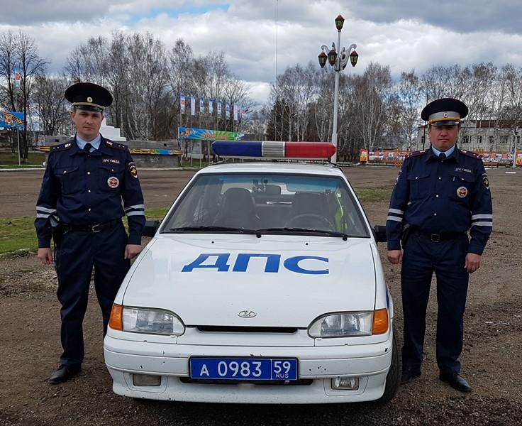 Вместе с напарником – старшим лейтенантом полиции Рамисом Адуловым – Сергей работает всего два месяца