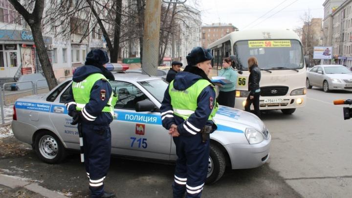 В Челябинске арестовали маршрутку за долг по штрафам на 59 тысяч