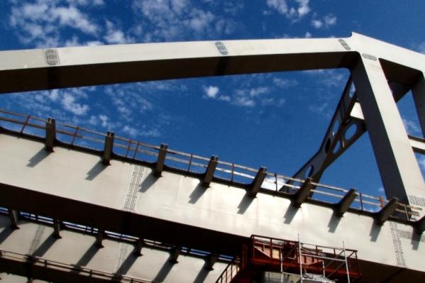 Стоимость строительства моста составляет 12,296 млрд рублей