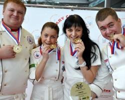 «МаксиМ» завоевал золото на международном кулинарном кубке