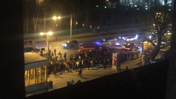 ДТП у Драмтеатра: столкнулись мотоцикл Yamaha и «десятка», байкер погиб