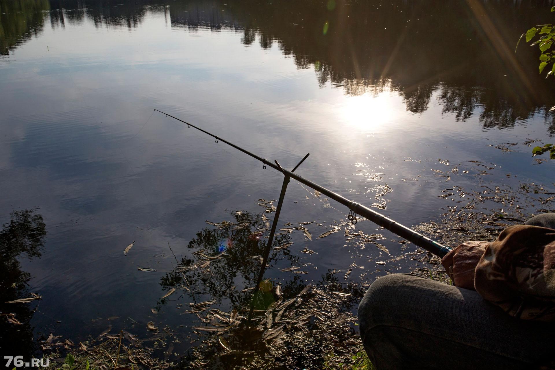 Есть и такие рыбаки, которые сидят с удочкой уже в 4 утра