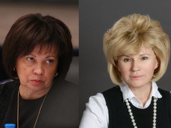 Любовь Совершаева (слева) и Ирина Потехина / коллаж / «Фонтанка.ру»