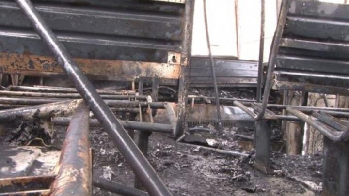 На автовокзале в Архангельске горел рейсовый автобус