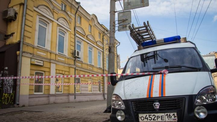 Ростовский Центральный рынок оцепили из-за возможного взрыва