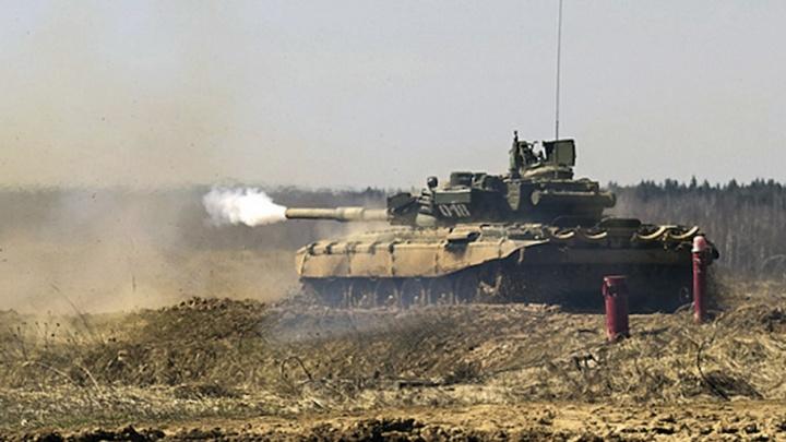 Более 500 снарядов было израсходовано при  стрельбе из танков под Волгоградом