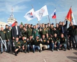 Стройотряд «Молодая гвардия» отправился на Ямал