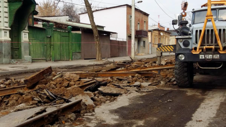 Градоначальник Виталий Кушнарев: «Улица Станиславского будет сдана в срок, несмотря ни на что»