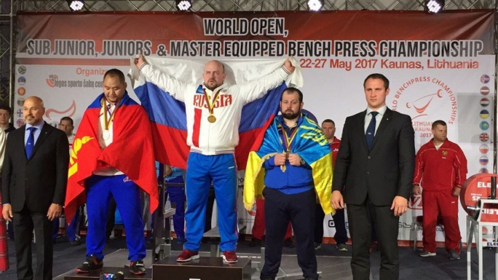 Северодвинец стал победителем чемпионата мира по пауэрлифтингу