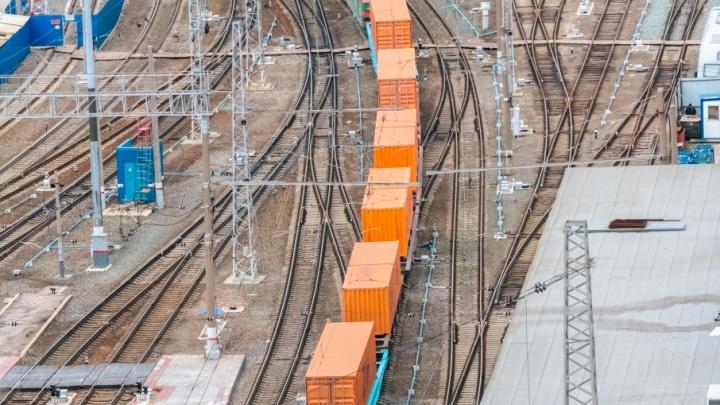 В Зубчаниновке поймали двух мальчиков, которые играли с кранами на грузовом поезде