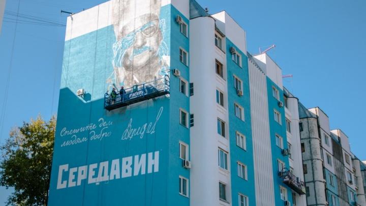 Картина высотой 27 метров: как рисуют гигантские граффити в Самаре