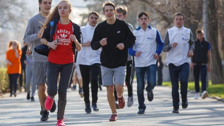 Волгоградцы на традиционном марафоне решили побить 10-летний рекорд России