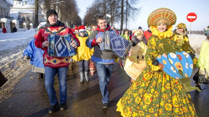 Блины, забавы и квест-игра: как в Ярославле проходит главная Масленица страны