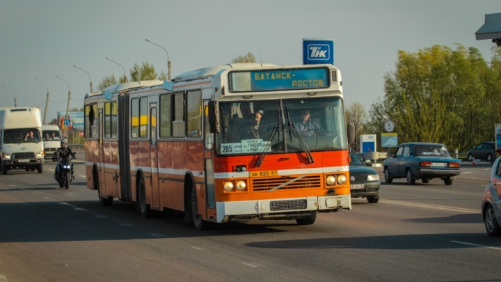 Пассажирские автобусы не смогут въехать в Ростов без ГЛОНАСС