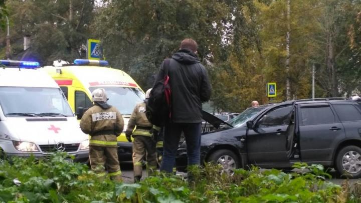 Пробки в Архангельске: ДТП на улице Гагарина парализовало автомобильное движение