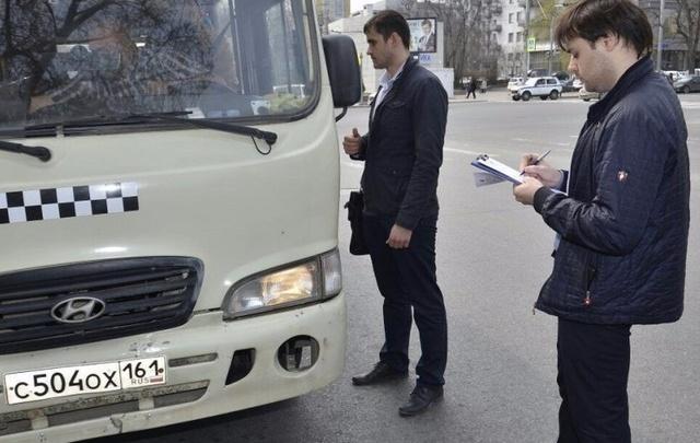 На улице Красноармейской провели комплексную проверку маршруток
