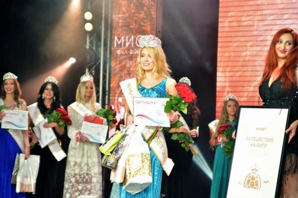 Карина Сулейманова стала «Мисс ФНЛ-ФОНБЕТ»