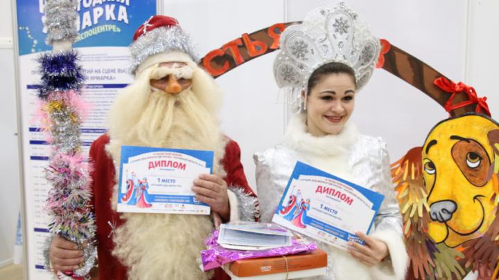 Лучшим Дедом Морозом в Ростове стал пенсионер, а Снегурочкой — джазовая певица