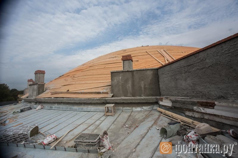 Новый купол цирка