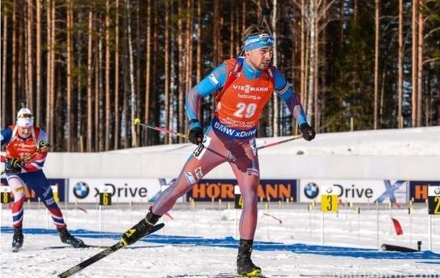 Шипулин взял медаль в спринте на этапе Кубка мира