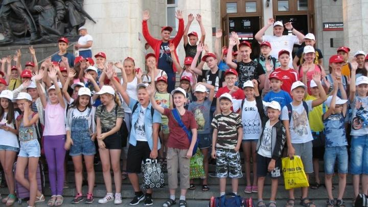 «Красный Октябрь» организовал для детей сотрудников предприятия летний отдых в Анапе