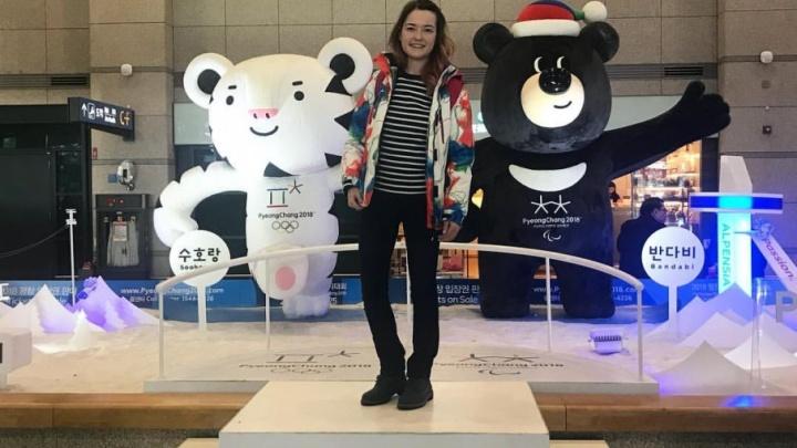 Нас называют «Россия»: волонтёр из Челябинска «замёрзла» на Олимпиаде и подружилась с американкой