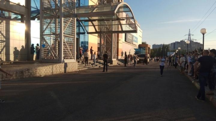 Эвакуация в торговом центре «Парк Хаус» оказалась учением