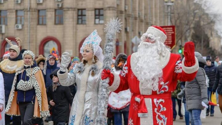 В центре Волгограда накануне Рождества появятся черт и трындычиха