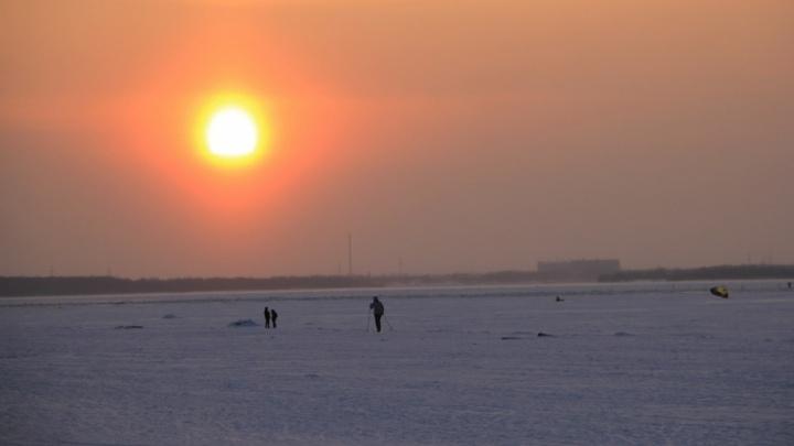 Ночью в Поморье похолодает до –27°С