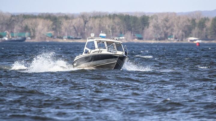 На спуске Лейтенанта Шмидта столкнулись две моторные лодки