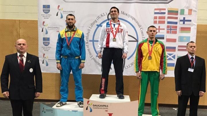 Четверо южноуральцев стали чемпионами Европы по гиревому спорту