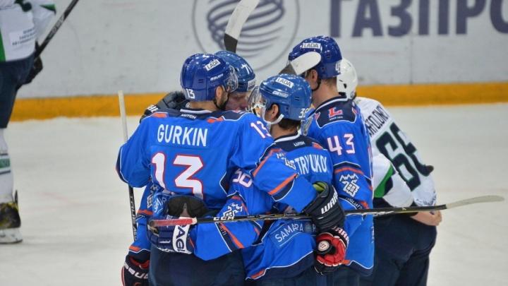 Тольяттинская «Лада» уступила ХК «Сочи» в заключительном матче сезона