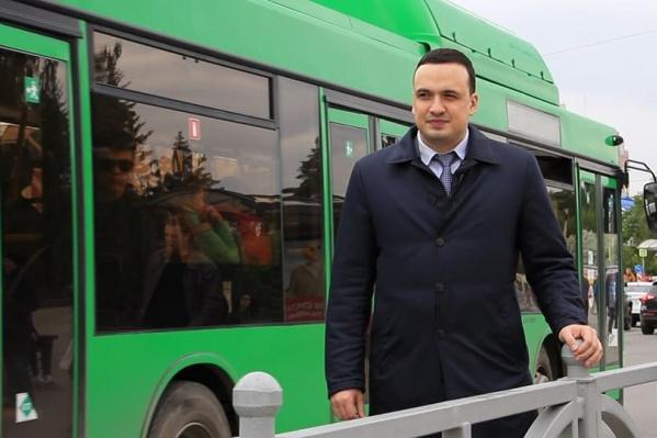 Дмитрий Ионин примет участие в выборах губернатора.
