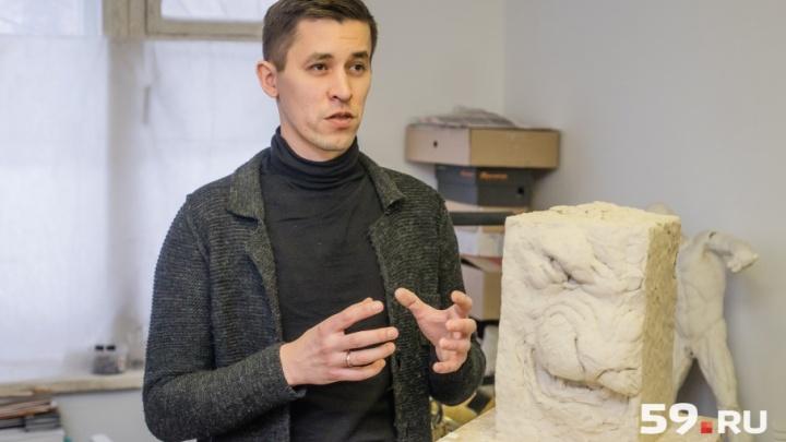 Мастерские пермских художников: рассказываем о скульпторе, который выставляется в Париже