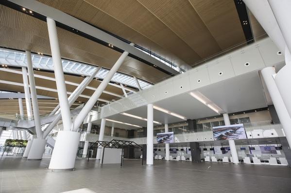 Аэропорт начнет работать первого декабря